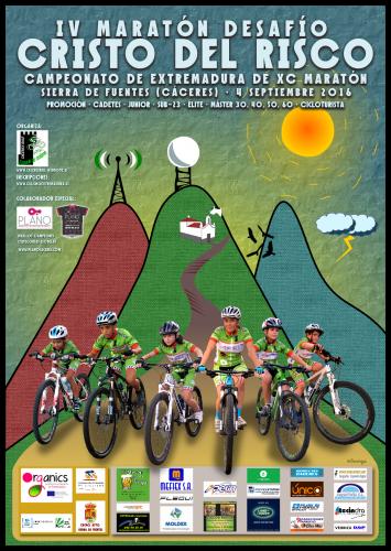 Diseñando el Cartel del Campeonato de Extremadura de BTT