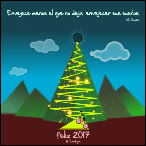 Feliz año cumpliendo sueños